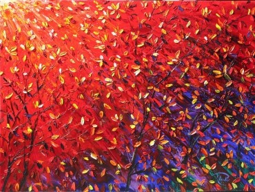 Leaves - abstract art