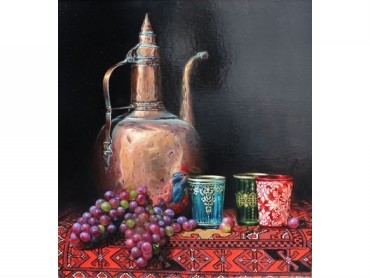 Moroccan Tea - Still Life by Ken Hunt