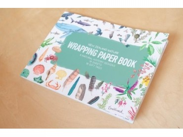 New Zealand Nature Wrapping Paper Book